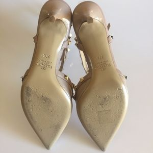 Valentino Shoes - Valentino Garavani Rockstud Ankle Strap Pumps